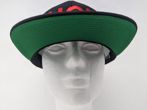 794ddfea Black w/Red Fugly® Embroidery Classic Wool snapback – Fugly L.A.