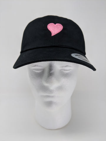 FUGLY® (Pink Heart) Low Profile Dad Hat