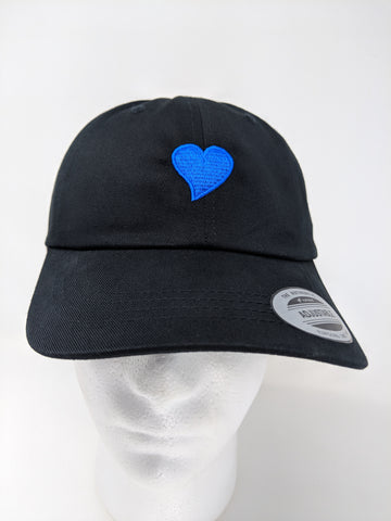 FUGLY® (Blue Heart) Low Profile Dad Hat