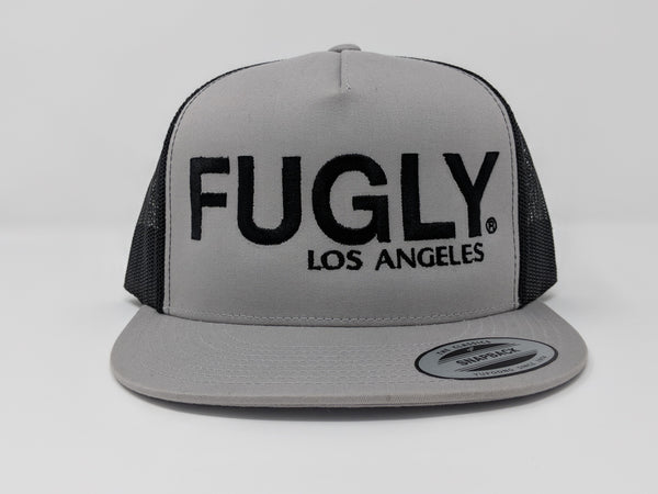 FUGLY Classic Trucker Snapback 5 Panel Flat Bill