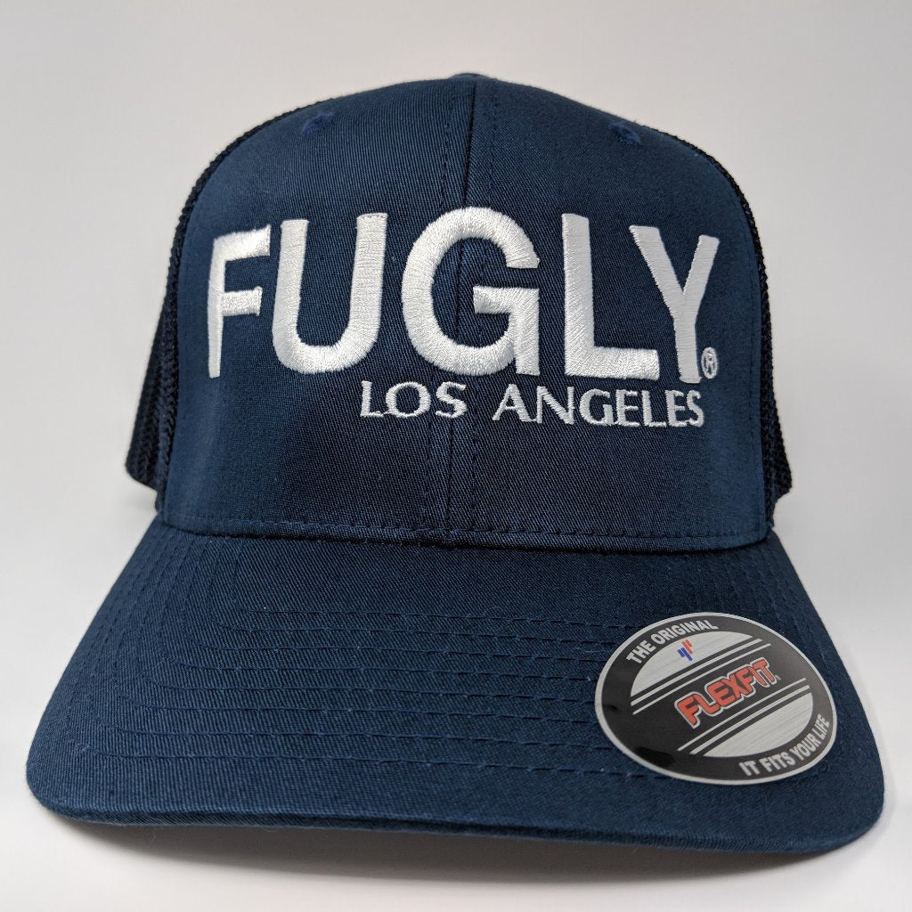 9) FUGLY Los Angeles Flex Fit 6-Panel - Curved bill (LAFD Style) d4fa502cb1d