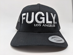 Fugly Los Angeles Black Retro Trucker