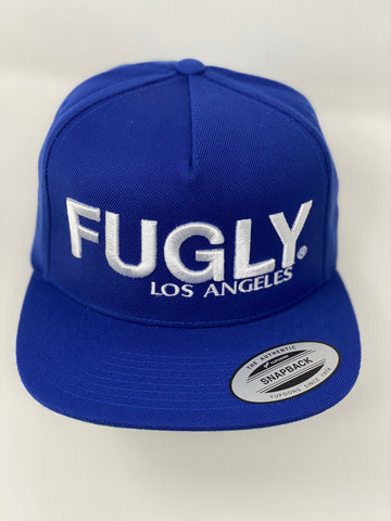 Blue Fugly® Embroidery Classic Wool snapback