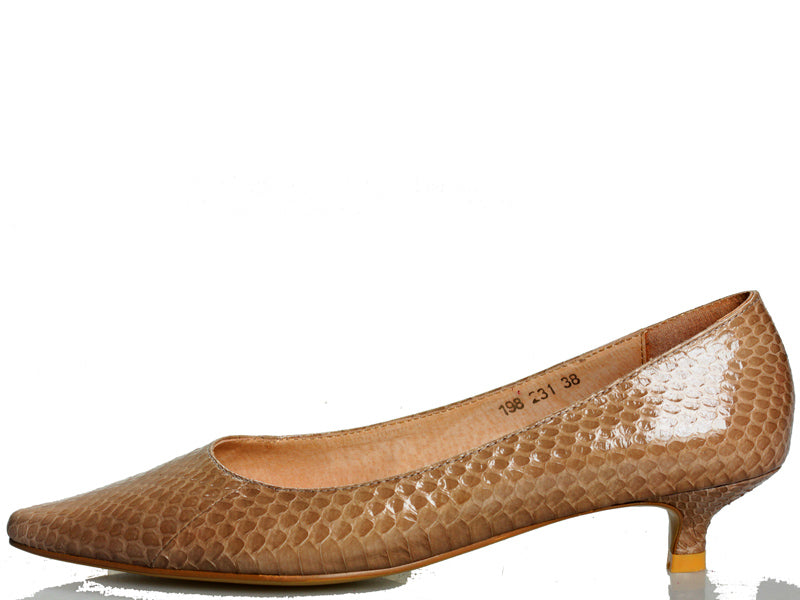 Mary Mushroom Leather pumps
