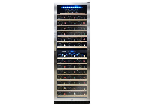 Vinotemp Bottle Dual Zone Wine Cooler - Kegerator Craft