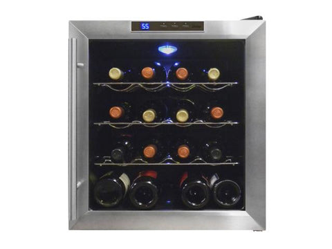 16 Bottle Thermoelectric Wine Cooler - Kegerator Craft