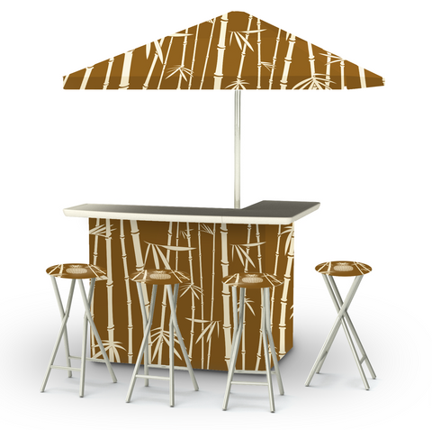 Tiki Deluxe Bar Set
