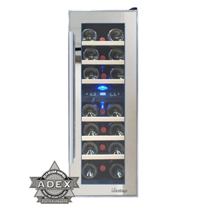 Vinotemp Dual-Zone Thermoelectric Mirrored Wine Cooler - Kegerator Craft