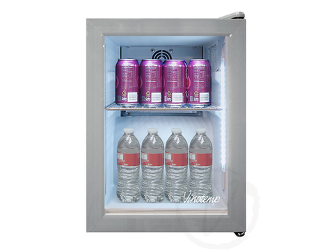 24-Can Countertop Beverage Display Cooler VT-SC03 - Kegerator Craft