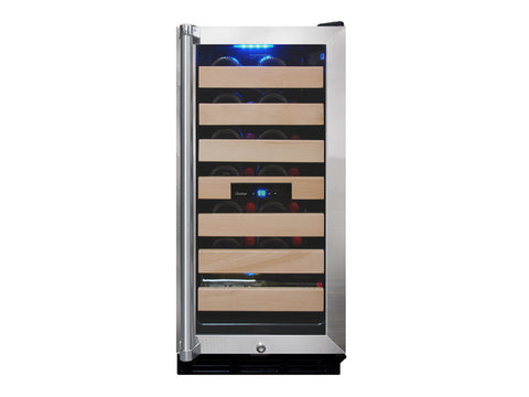 Vinotemp 26-Bottle Wine Cooler with Interior Display - Kegerator Craft