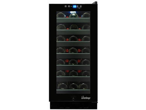 33-Bottle Touch Screen Wine Cooler - Kegerator Craft