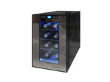Vinotemp 8-Bottle Single-Zone Thermoelectric Mirrored Wine Cooler - Kegerator Craft