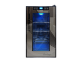 8 Bottle Single-Zone Thermoelectric Mirrored Beverage Cooler - Kegerator Craft