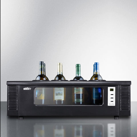 Summit Countertop Thermoelectric Wine Chiller 8 Bottle - Kegerator Craft