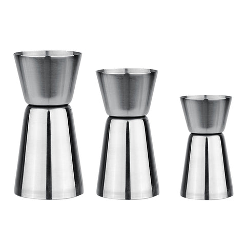 Double Shot Stainless Steel Wine Cocktail 3 sizes - Kegerator Craft
