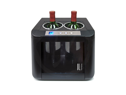 Vinotemp 2-Bottle Thermoelectric Open Wine Cooler - Kegerator Craft