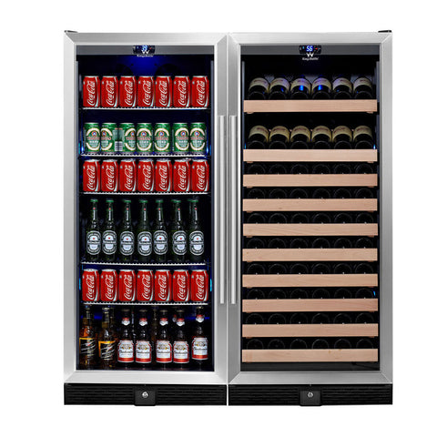 KingsBottle Beer & Wine Cooler KBU-100Combo-BW2 - Kegerator Craft