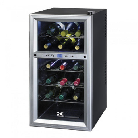 18 Bottle Beverage Cooler - Kegerator Craft