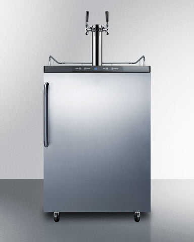 24' Freestanding Commercial Dispenser - Kegerator Craft