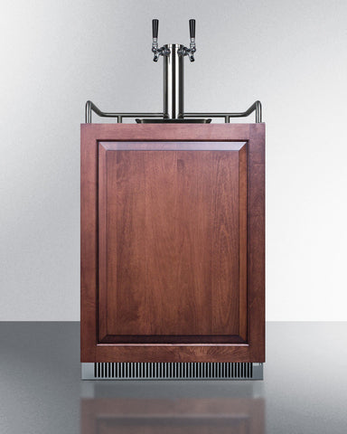 Summit Dual Tap Built-in Under Counter Frost-Free Kegerator SBC677BIIFTWIN - Kegerator Craft