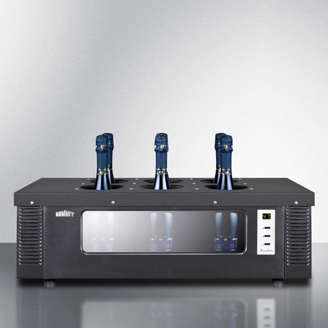 Thermoelectric Wine Chiller 6 Bottles - Kegerator Craft