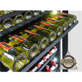Dual-Zone Wine Cooler 300 Bottle - Kegerator Craft
