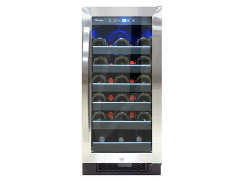Vinotemp 30 Bottle Single Zone Wine Cooler - Kegerator Craft
