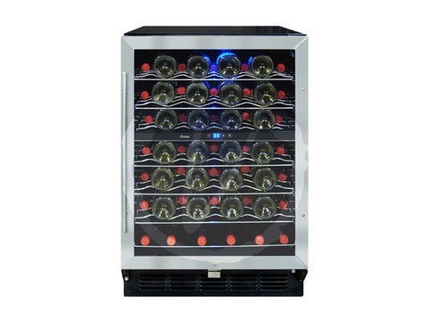 Vinotemp 58-Bottle Cooler with Interior Display - Kegerator Craft