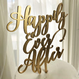 Happily Ever After Cake Topper - Happily Ever After Wedding Cake Topper - Wedding Cake Topper.