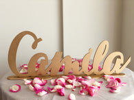 Personalized Child's Standing Name Sign - Laser Cut Sign.