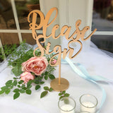 BEST SELLER! Laser Cut Please Sign - Please Sign our Guestbook Sign, Wedding Signage - Please Sign Table - Please Sign Wedding Sign -