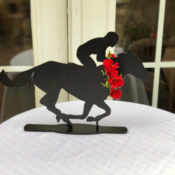 Laser Cut Horse Silhouette - Horse Races Table Decor - Derby Themed Party Decor - Horse Themed Party Decor - Kentucky Derby Party Decor