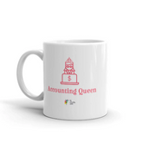 Accounting Mug, Accounting Queen