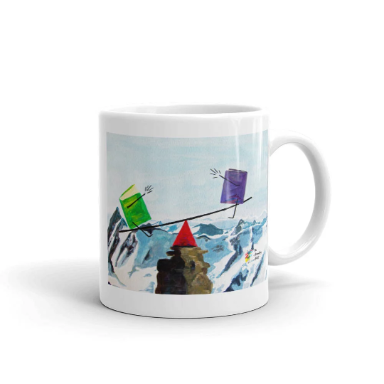 Accounting Mug, Balance the Books