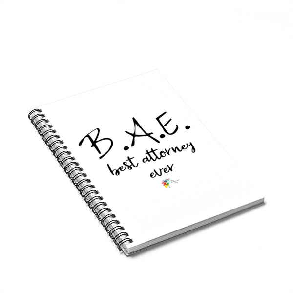 Attorney Gift for Spouse - BAE Best Attorney Ever Notebook