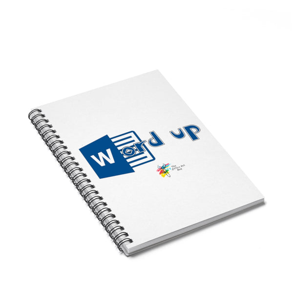 Word Up Funny Spiral Notebook for Office