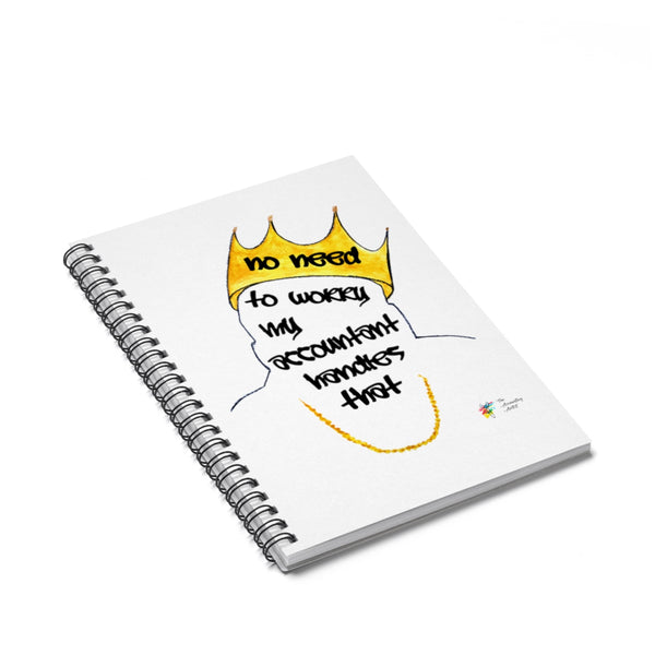 Biggie Spiral Notebook for Accountants