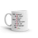 Bad Words Funny Accountant Mug, 11oz