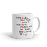 Accountant Mug, Bad Words