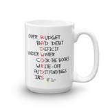 Bad Words Accountant Mug