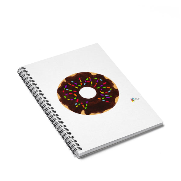 Funny Office Gift, Motivation Donut, Spiral Notebook