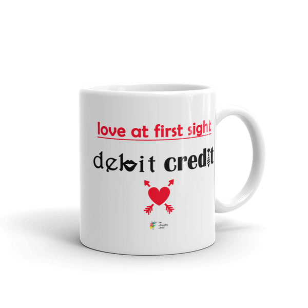 Funny Accountant Valentines Day Mug