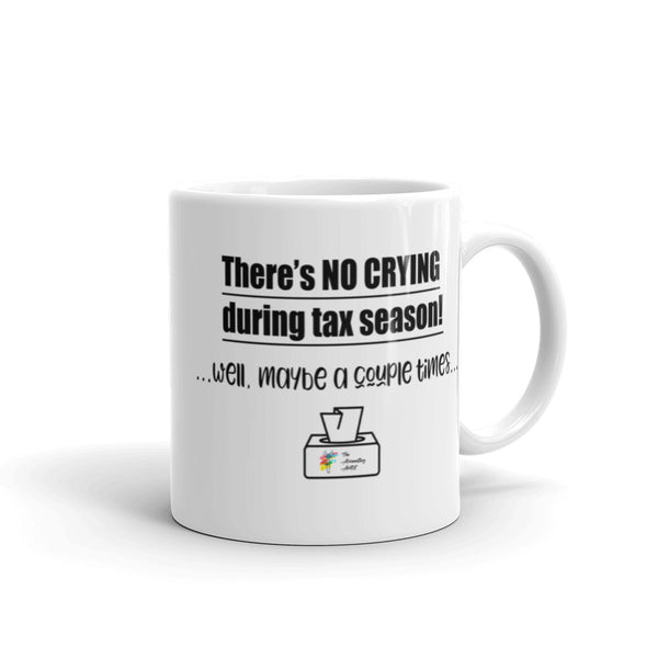 No Crying During Tax Season Mug