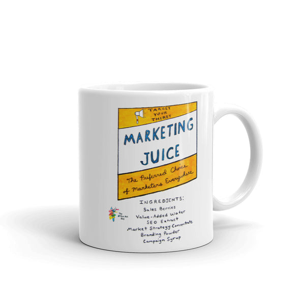 Marketing Juice Coffee Mug