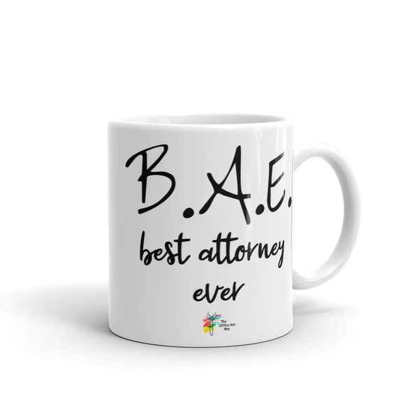 Attorney Mug for Husband, Wife or Loved One - BAE Best Attorney Ever