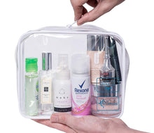TSA Approved Toiletry Bag - Clear Travel Bag for Men and Women to Carry On your Makeup and Toiletries