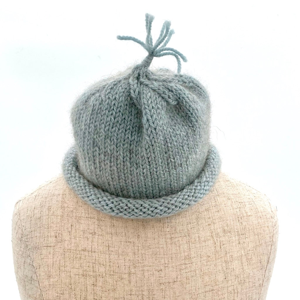 NZ wool hat for baby