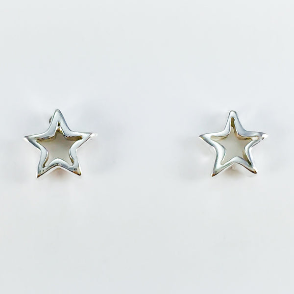 Star Outline Studs Small