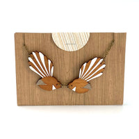 Large Fantail Necklace