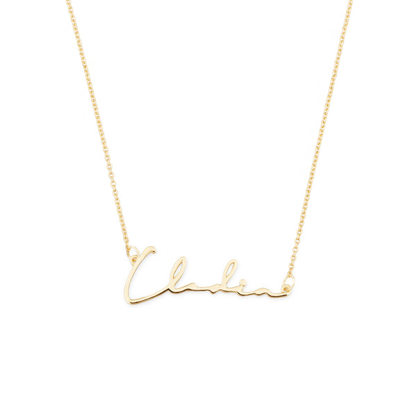 14K GOLD CLODIA NECKLACE